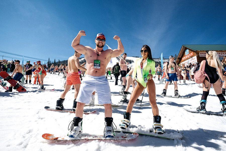 Лавина бикини установила новый рекорд России